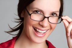 Glasses Woman Royalty Free Stock Photos