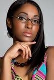 Glasses Woman Stock Image