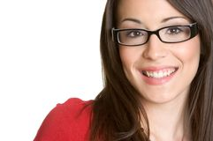 Glasses Woman stock photography