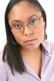 glasses woman Στοκ Εικόνα