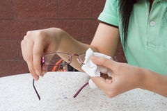 Glassess Lizenzfreies Stockfoto
