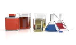 GlassFlask stock image