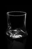 Glassful on a black background Royalty Free Stock Images