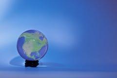 Glassglobe Nord America immagini stock