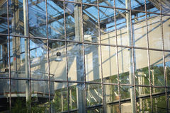 Glasshouse details of windows Royalty Free Stock Photo