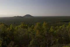 Glasshouse góry, światła słonecznego wybrzeże, Queensland Australia Zdjęcia Stock