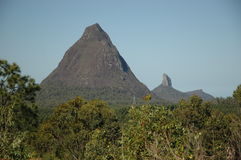 Glasshouse Mountains Royalty Free Stock Images