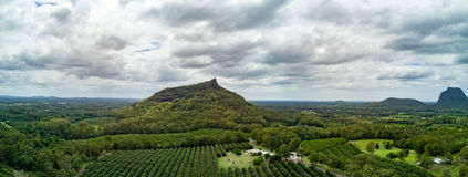 Glasshouse Mountains Royalty Free Stock Image