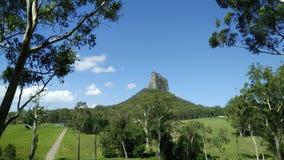 Glasshouse Mountains - Mount Coonowrin Stock Photos