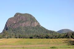 Glasshouse Mountains - Mt Tibrogargan stock photography