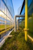 Glasshouse power facility Royalty Free Stock Photo