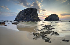 Glasshouse Rocks Narooma Stock Images