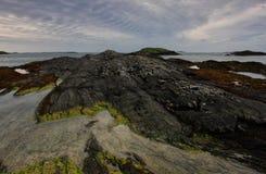 Glassilaun海滩Connemara 免版税库存图片
