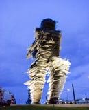 Glasskulptur lizenzfreie stockfotos