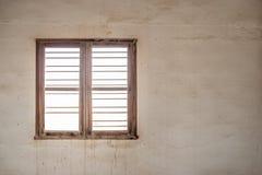 Window of a derelict interior Stock Image