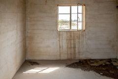 Derelict interior of abandoned building Royalty Free Stock Photography