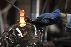 glassmaker фабрики стоковая фотография rf