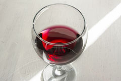 Glassof red wine Stock Images