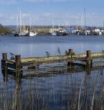 Glasson skeppsdocka - Lancashire - England arkivbilder