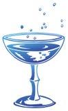 Glasss del vino illustrazione vettoriale