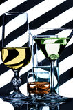 Glassware Royalty Free Stock Photos