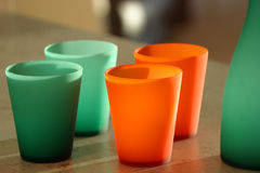 Glassware royalty free stock photos