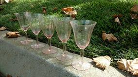 glassware imagens de stock