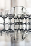 glassware fotografia de stock royalty free