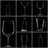 Glassware Stock Photography