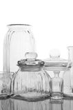Glassware collection Royalty Free Stock Photos