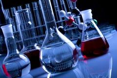 glassware laboratorium Zdjęcia Stock