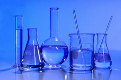 glassware laboratorium fotografia royalty free