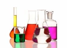 glassware laboratorium Fotografia Stock
