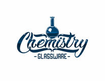 Glassware logo Royalty Free Stock Images