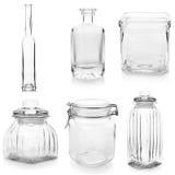 Glassware set Stock Photo