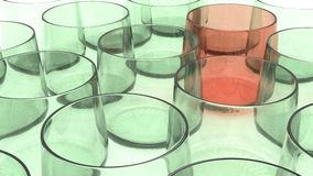 Glassware tumbler Stock Photography
