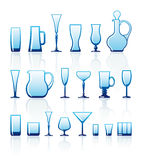 Glasswares Royalty Free Stock Image