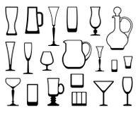 Glasswares Stock Photos