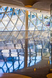 Glasswork inside the myZeil center Royalty Free Stock Image