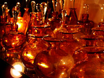 Glassworks in a shop Royalty Free Stock Photo