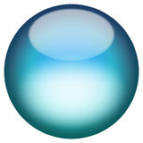 Glassy 3D Button Royalty Free Stock Images