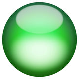 Glassy 3D Button Stock Images