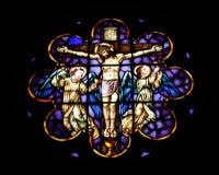 Glassy. Church in Gramado (Brazil royalty free stock image