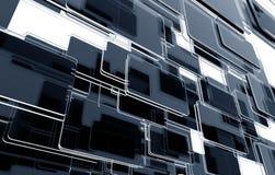 Glassy Blocks 3D Stock Image