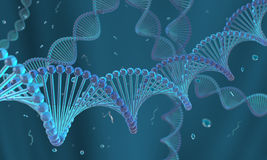 Glassy DNA Stock Photos