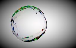 Glassy gem Stock Photography