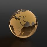Glassy globe Stock Photography