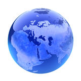 Glassy globe.Europe Stock Photos