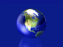 Glassy Globe - North America Stock Photography