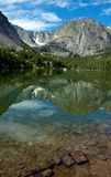 Glassy Lake Stock Image